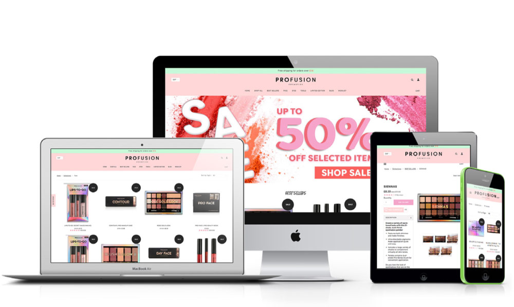 Profusion UK – The Launch of the New E-Commerce Shop