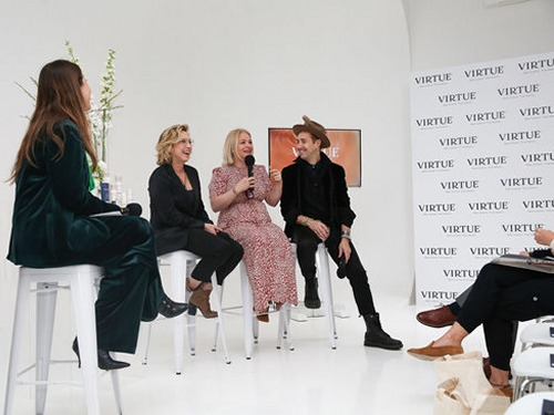 Virtue hosts panel to celebrate arrival of brand ambassador, Nicola Clarke