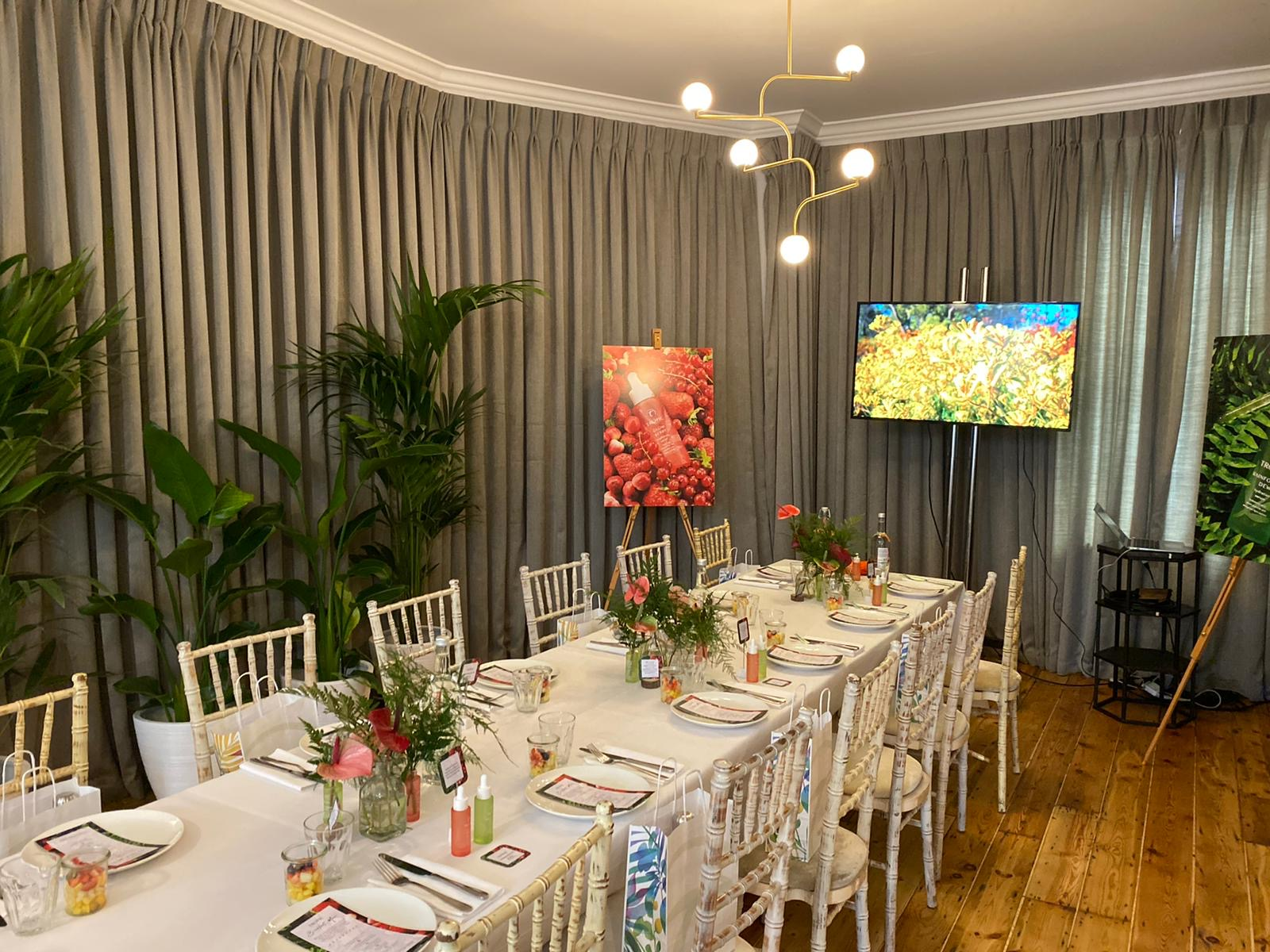 Kilpatrick Celebrates Tropic's New Serums at AllBright Members Club